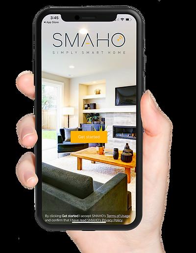 SMAHO smartphone app