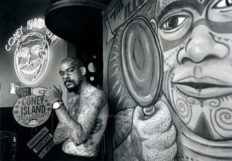 Michael Wilson, The Illustrated Man -Coney Island