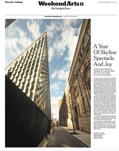Arts Coverage for The NYTimes