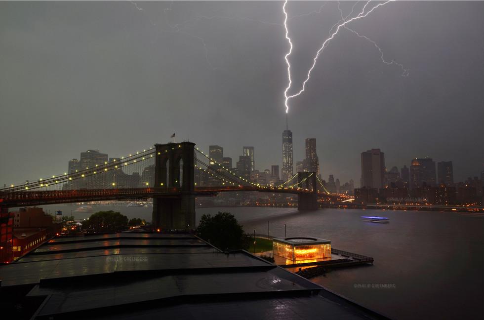 Lightning Strikes twice WTC