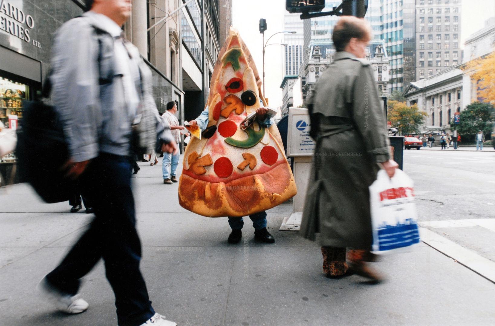 Sidewalk Advertising NYC