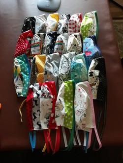 Scrub Caps for Nurses Week from Doris, UT
