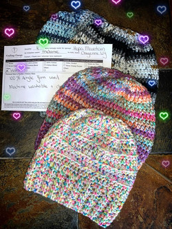 Winter Hats for Hopa Mountain from Melanie in WY