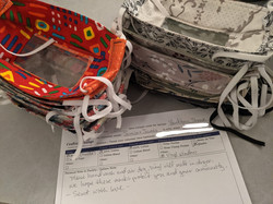 Smile Masks for Yankton Sioux Tribe from Jessica & James in NC