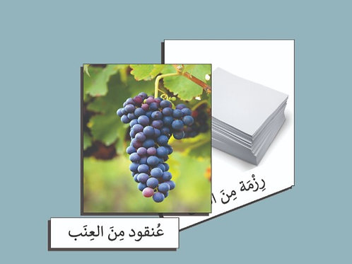 بطاقات وصف المجموعات