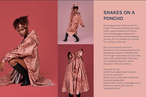 Rainkiss Snakes on a Poncho