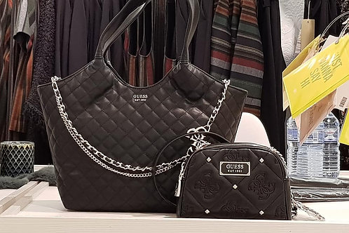 De grote Guess shopper. De 2 in1 tas.