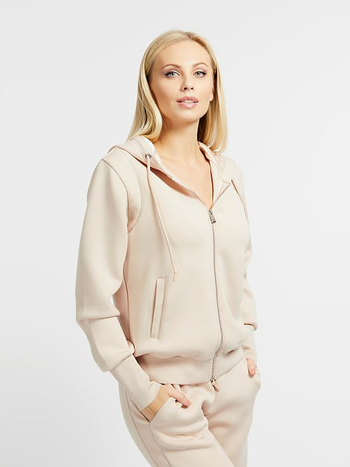 Guess Elsa Zipped Fleece vest.