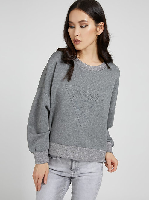 Sweater scuba driehoeklogo