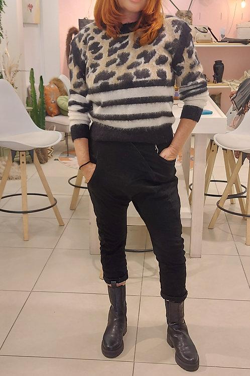 Handpicked Pantalon Baggy