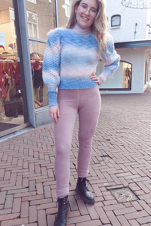 Skinny Rib Pantalon van Ambika