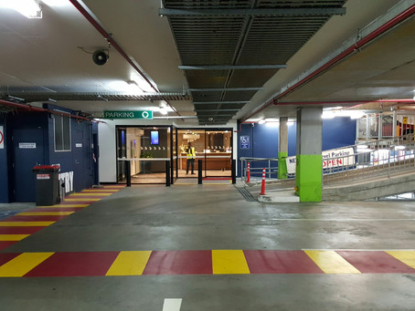 MERRYLANDS RSL TEMPORARY RECEPTION COMPLETE