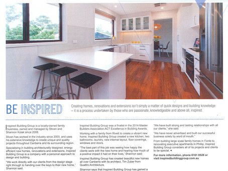 QUATTRO + INSPIRED BUILDING, BUILDING INSPIRING NEW HOMES
