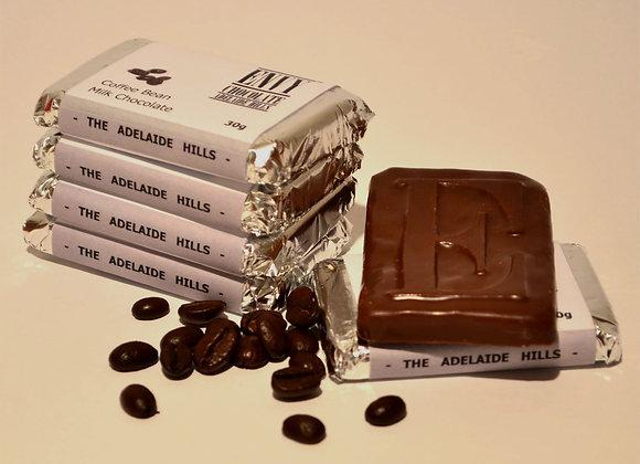 Milk Couverture Coffee Bean Chocolate Bar