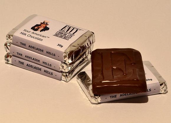 Milk Couverture Sour American™ Chocolate Bar