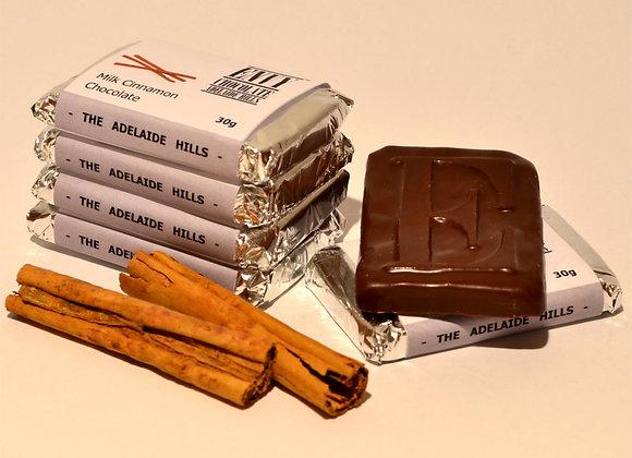 Milk Couverture Cinnamon Chocolate Bar