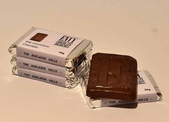 Milk Couverture Chocolate Bar