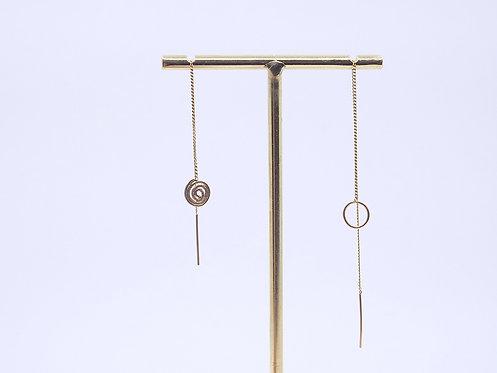 Wire Collection_ Orecchini catenina