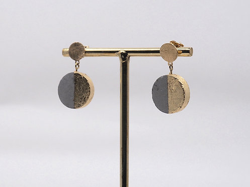 Concrete Collection_ Pendant earrings