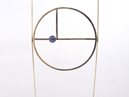 Golden Ratio Collection_ Maxi collana con pietra