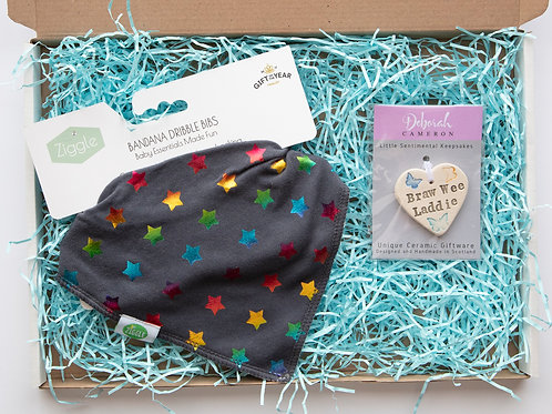Letterbox Gift - Baby (Colourful Stars)