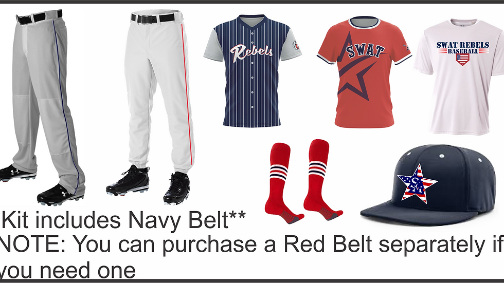 Prospect Baseball Uniform Kit