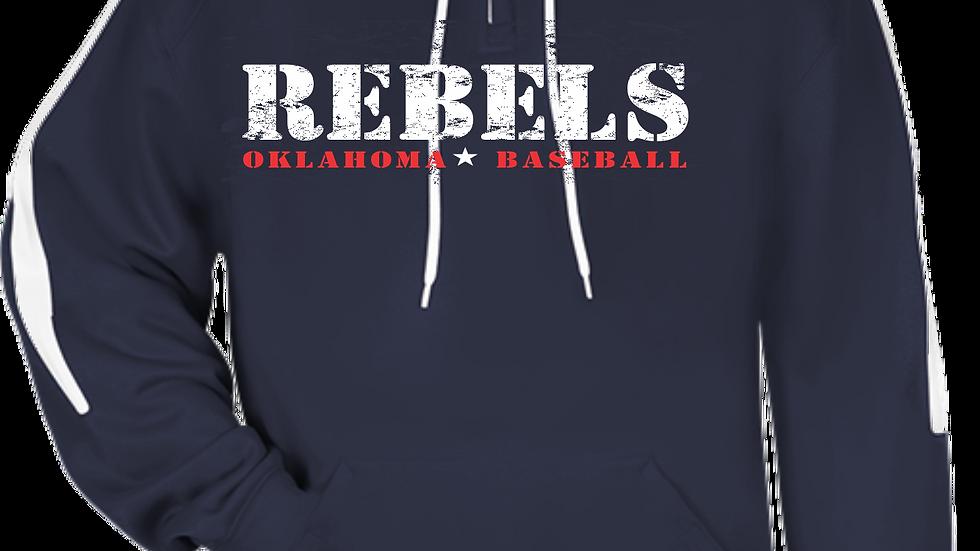 REBELS - TECH FLEECE BASEBALL HOODIE