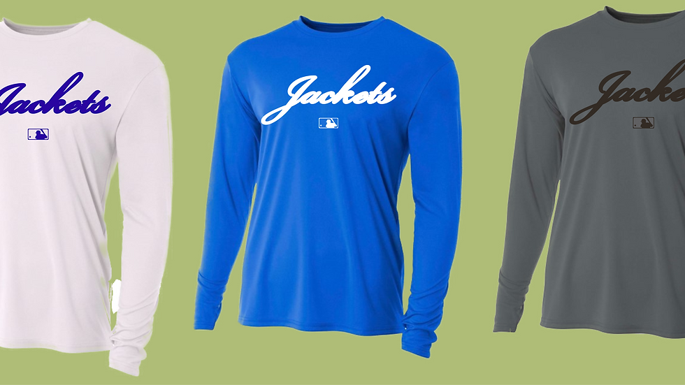 Long Sleeve Dry Fit - Package of 3