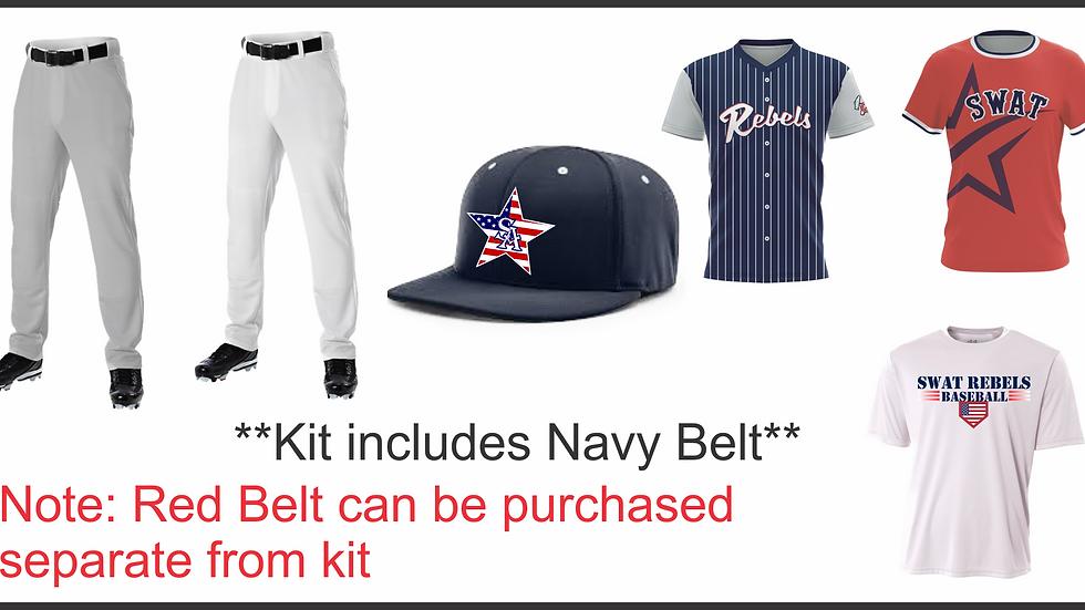 Youth Baseball Uniform Kit
