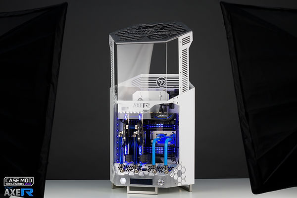 Case Mod World Series 2018 AXE-R project by neSSa