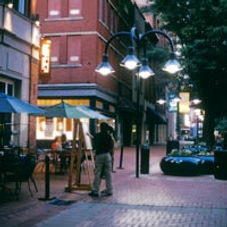 Closer than other Charlottesville apartments, Norcross Station is just steps off the center of the downtown mall.