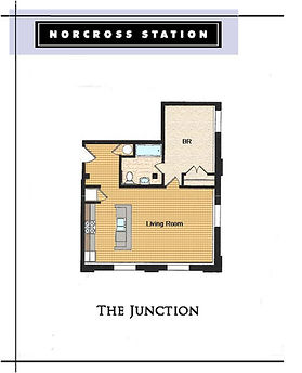 The Juncion Floor Plan