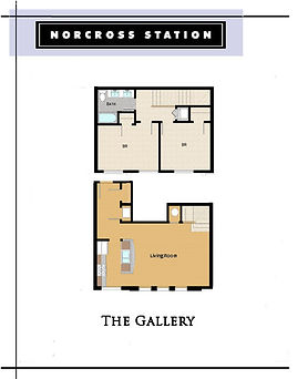 The Gallery offers 2 level living unlike other Charlottesville apartments offer....