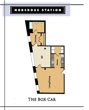 The Box Car Floor Plan