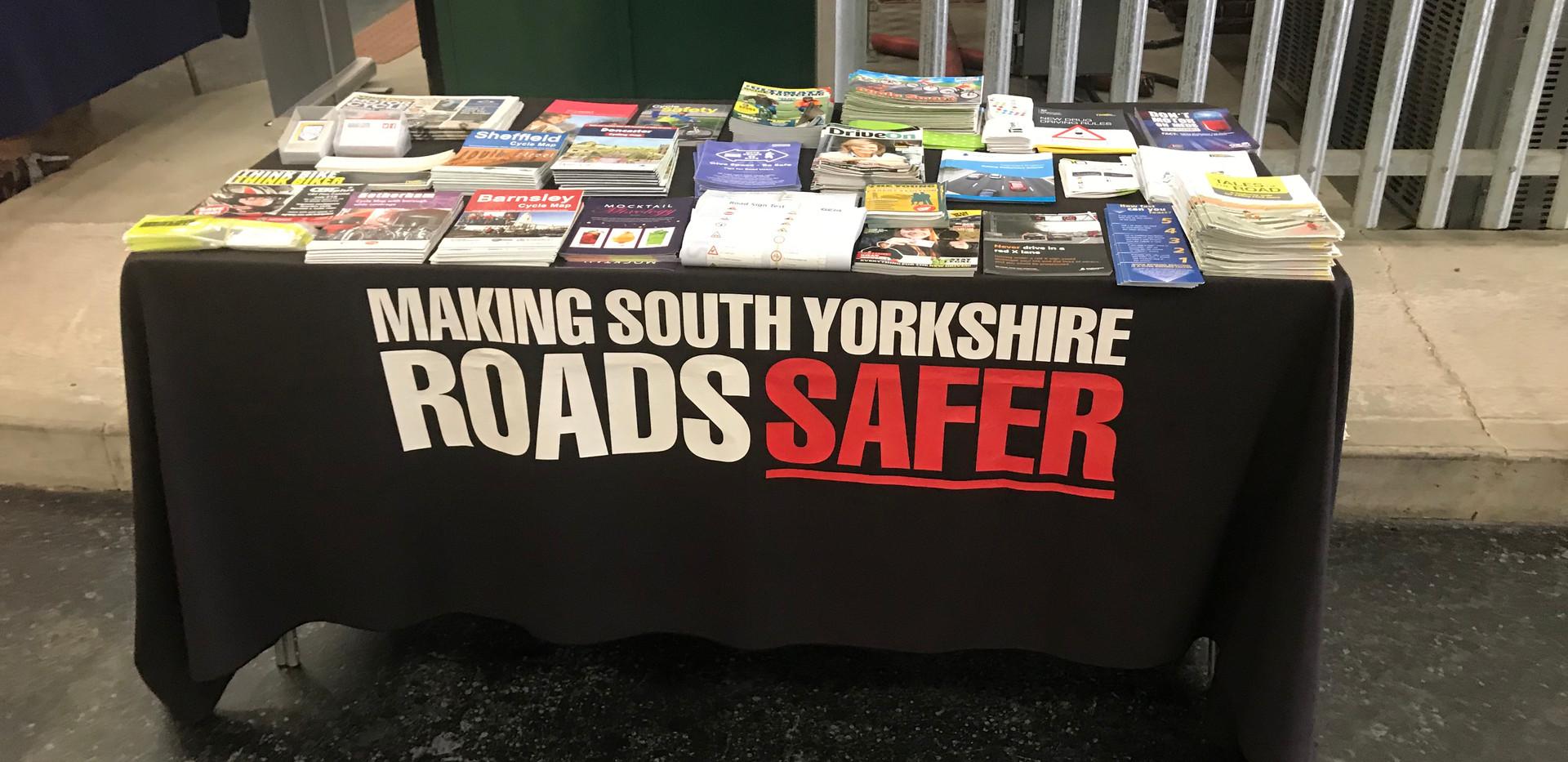 Safer Road Partnerships stall