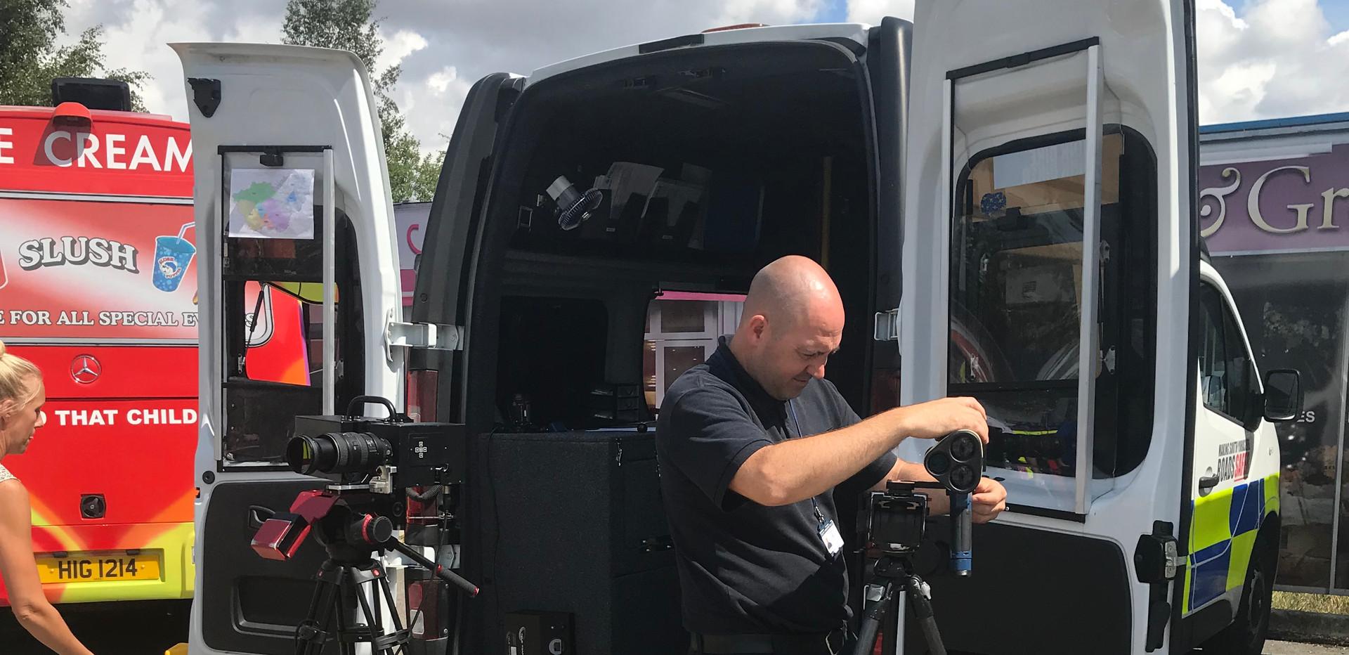 Safety Camera vehicle