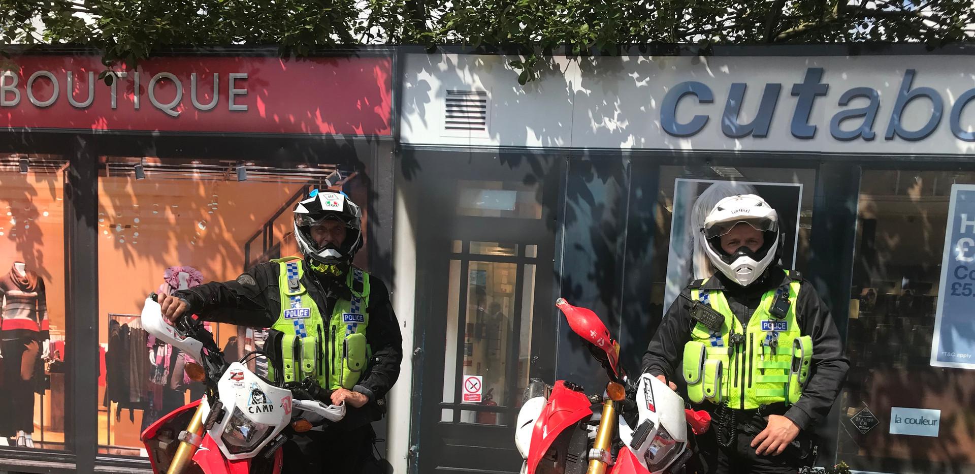 Off Road motobike Officers