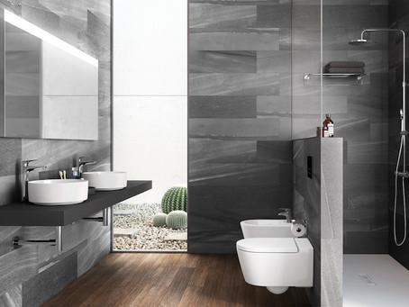 A Writer's Bathroom
