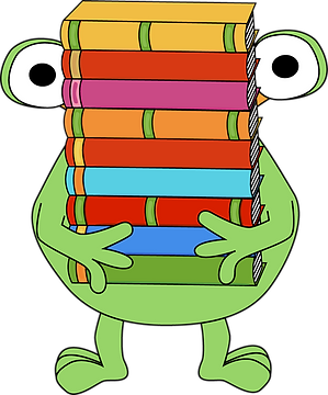 2--stack-clipart-monster-carrying-stack-