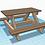 Thumbnail: ספסל פיקניק לילדים - חוברת בנייה דיגיטליית