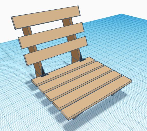 ספסל זולה יחיד - מדריך בנייה דיגיטלי