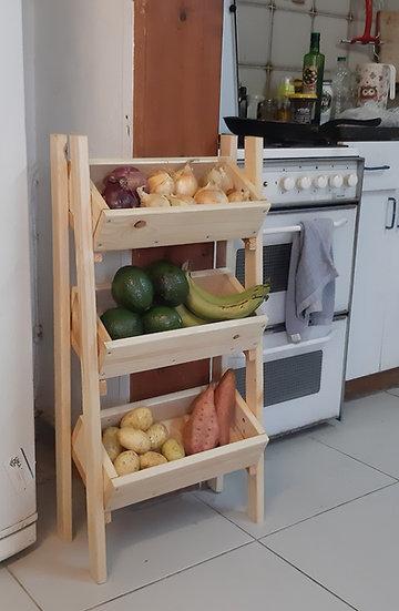 מעמד ירקות ופירות - קיט בנייה