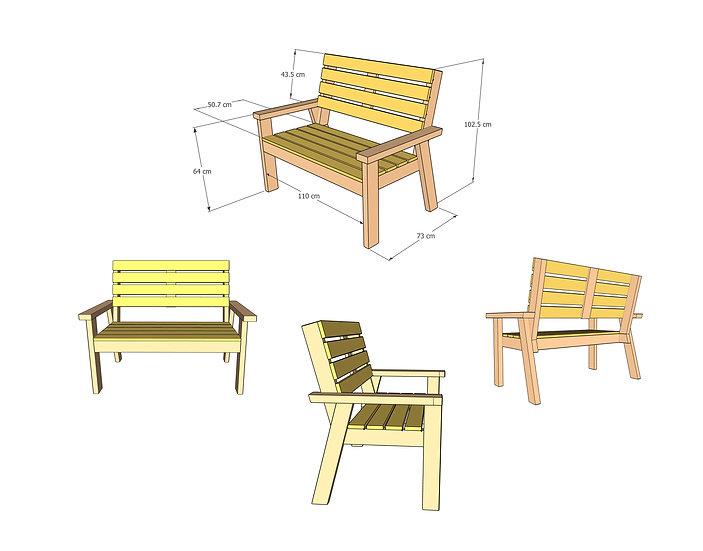 סט חוברות לבניית 12 רהיטים