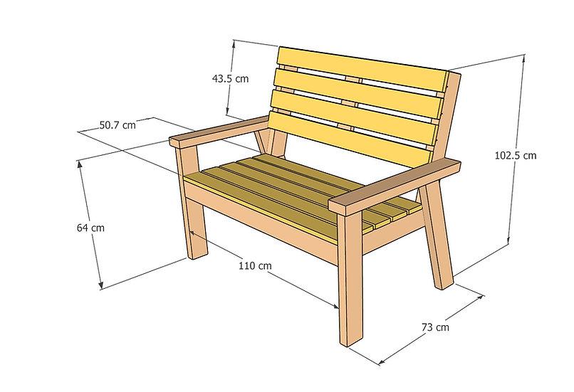 ספסל גינה - חוברת בנייה דיגיטלית