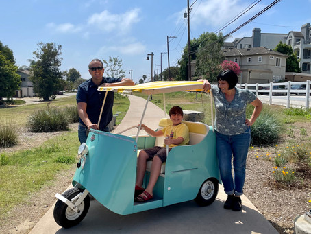 A Pandemic Project Resurrects the Cutest Electric Vehicle … Ever