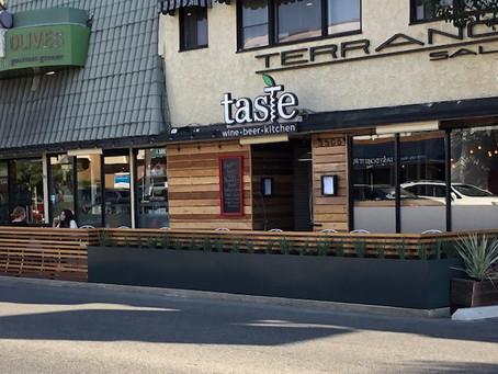 Taste/Olives Open New Parklet