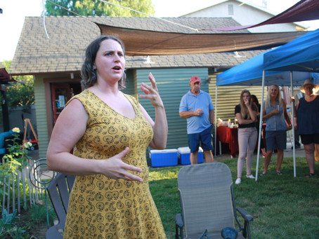 Residents Meet for  Historic District Picnic