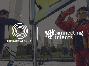 THE RACE AROUND PARTNERS WITH CONNECTING TALENTS – POSITIVELY DISRUPTING THE COLLABORATION INDUSTRY