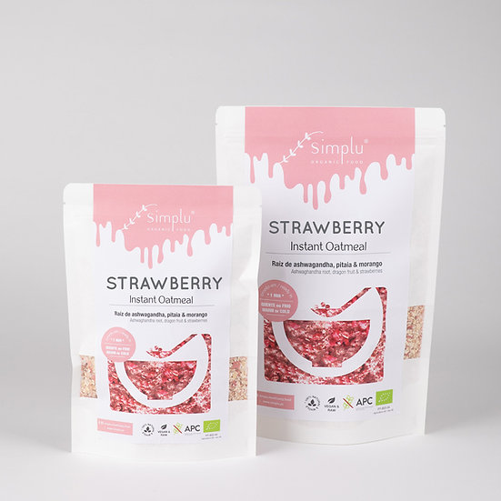 STRAWBERRY / instant oatmeal