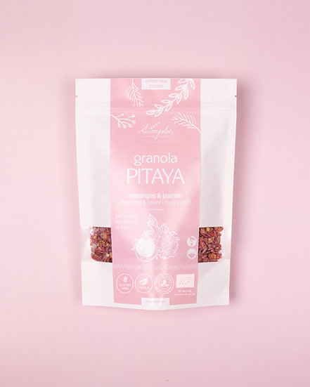 GRANOLA PITAYA / pitaya, morango & jasmim